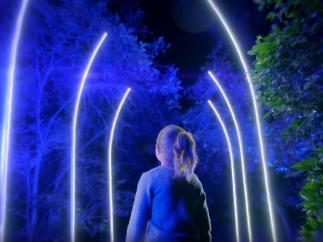 Descanso Gardens Is Switching On Thousands Of Lights For An Enchanted  Nighttime Display
