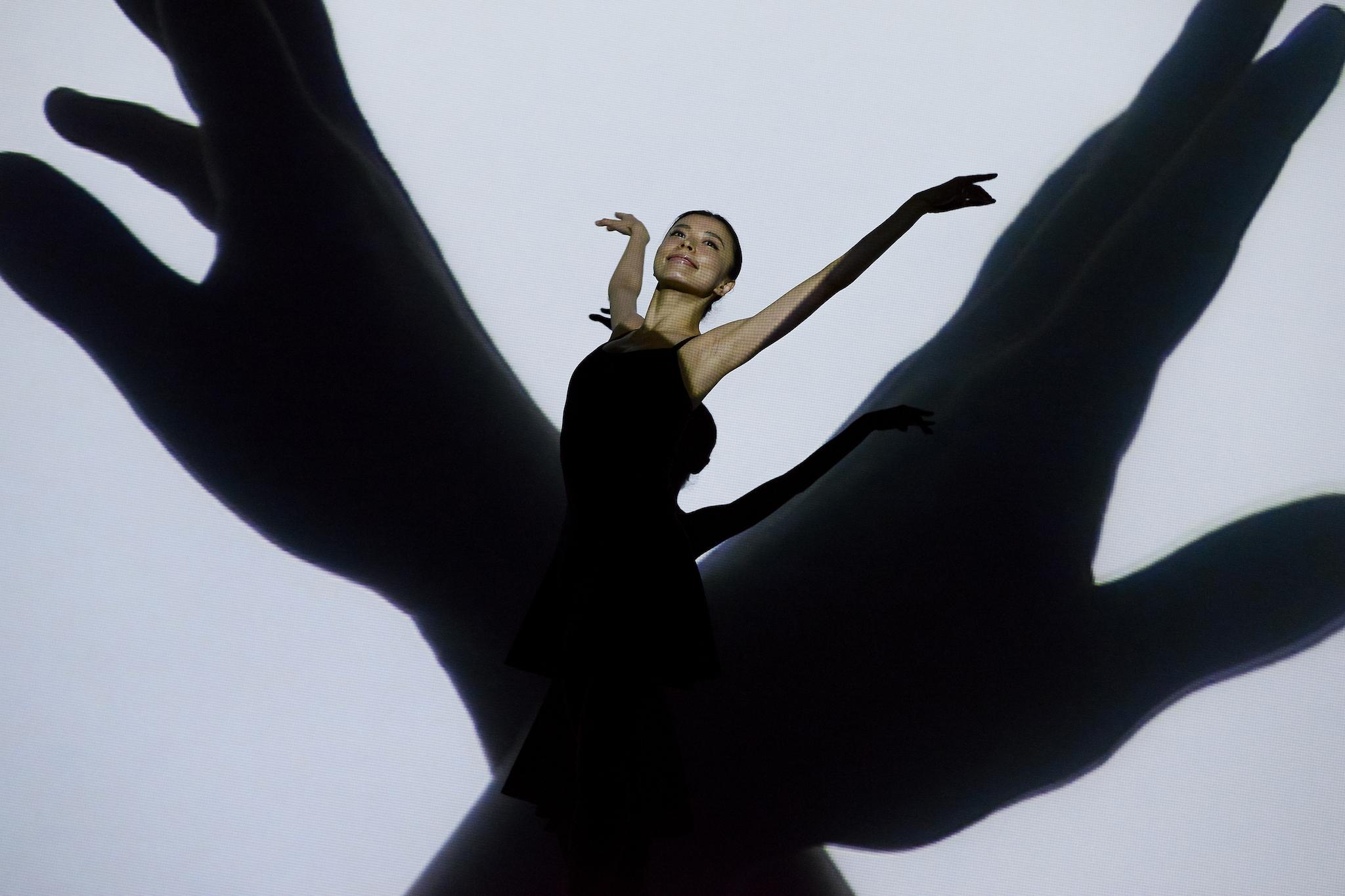 Enra: animación digital, performance y danza japonesa