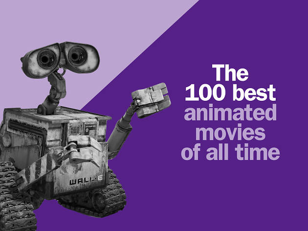 The 100 best animated movies of all time comped tile