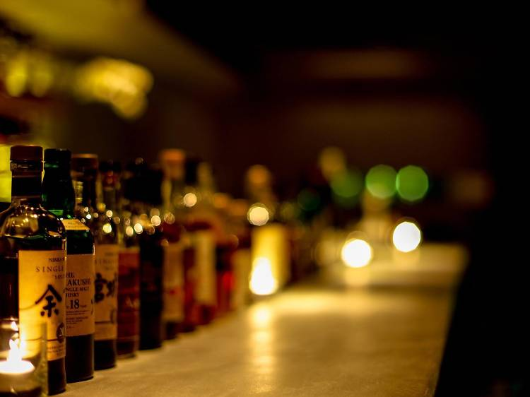 城中隱世酒吧