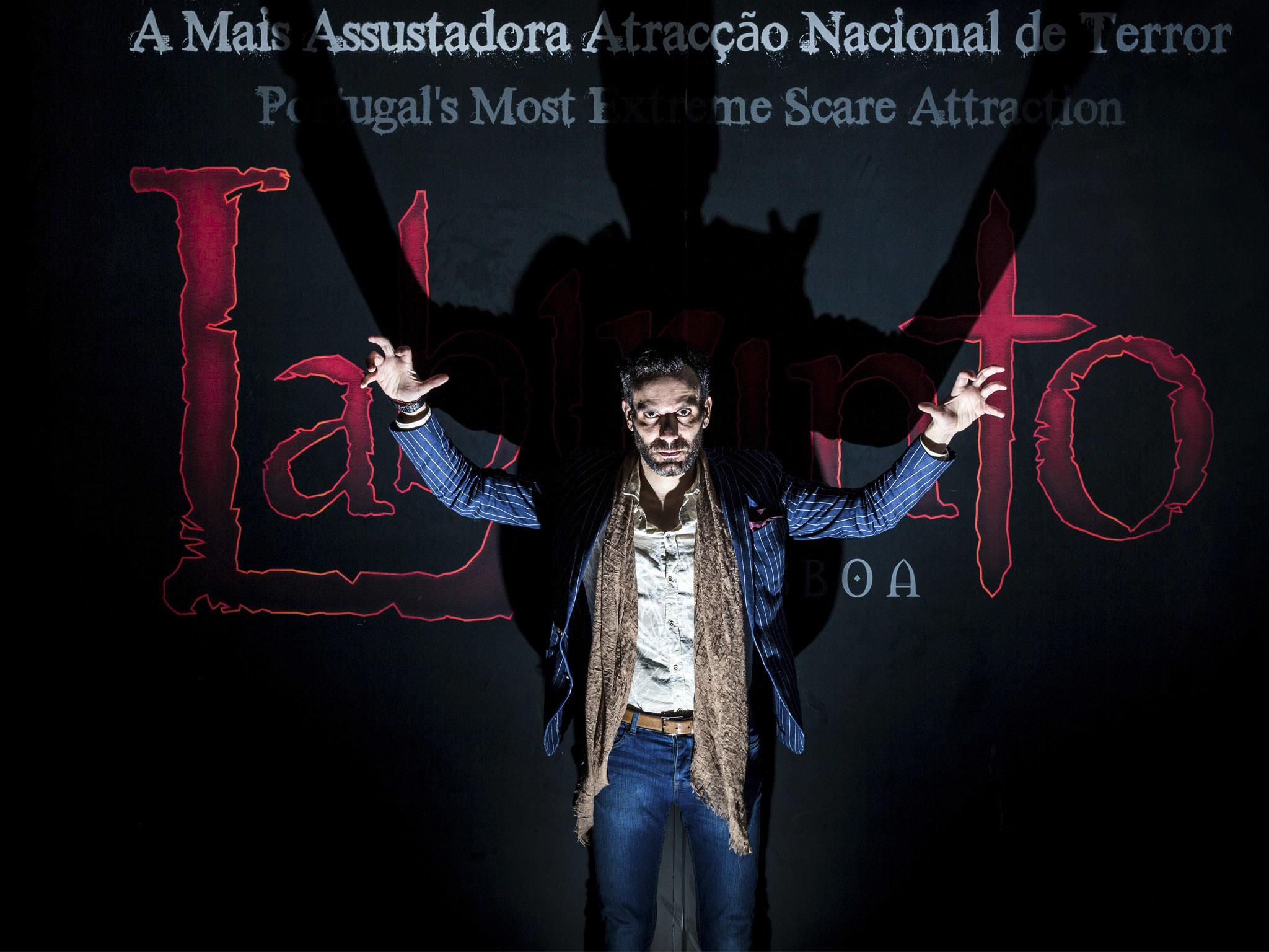 Ricardo Rodrigues, dono do espaço Labirinto Lisboa