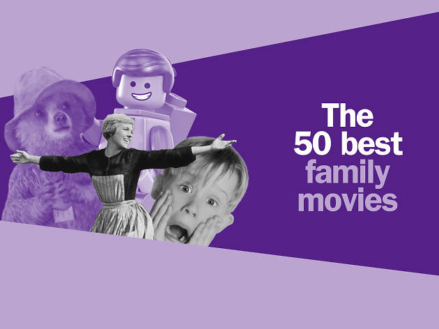 The 50 best family movies comped tile