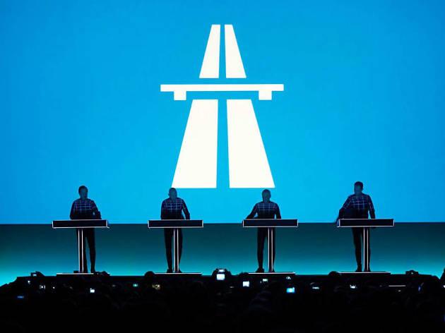 Kraftwerk en la Ciudad de México