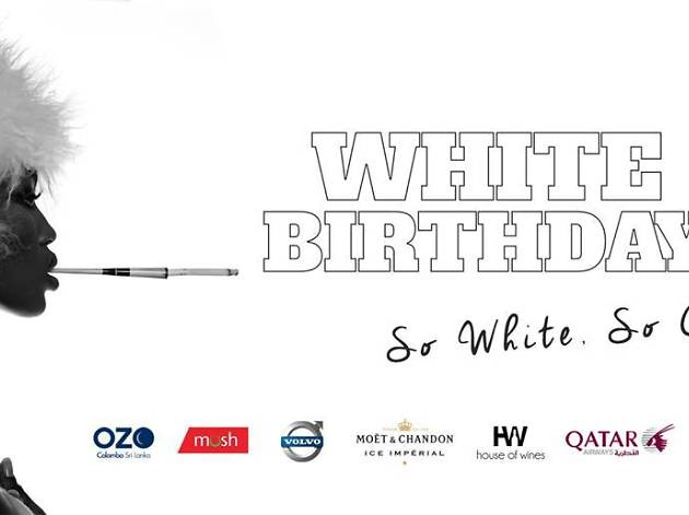 White birthday