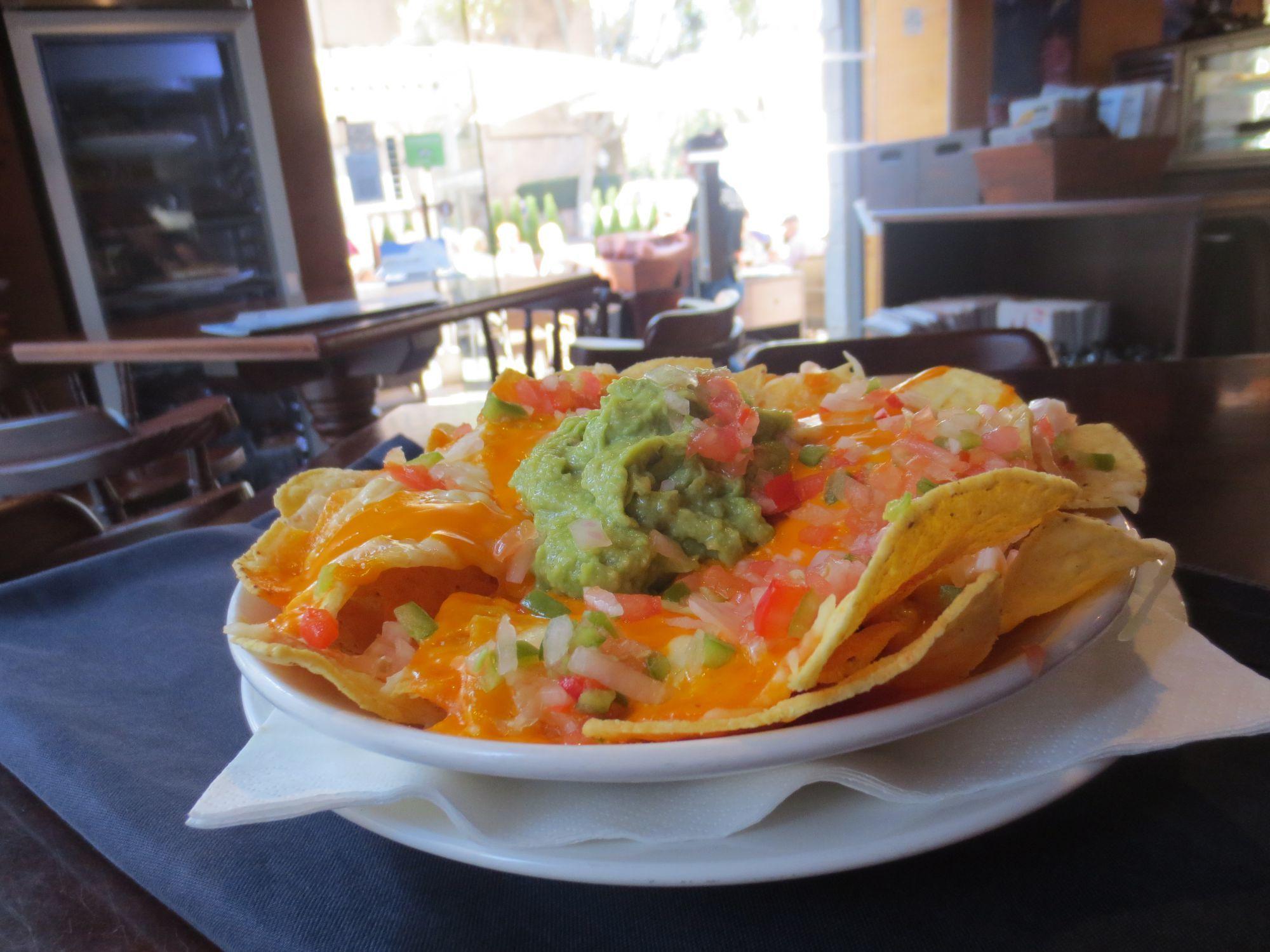 Els nachos del River Café