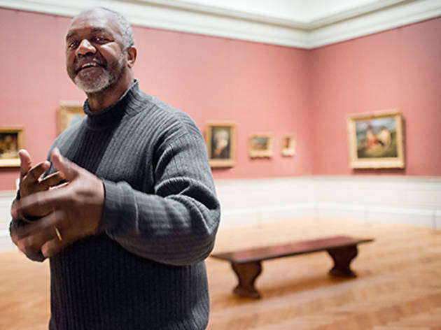 Kerry James Marshall's Met Breuer retrospective brings black lives to the fore