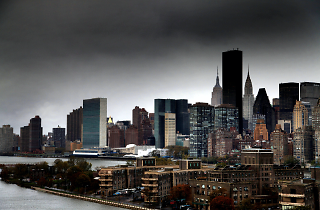New York without power taken from the 59th Street Bridge