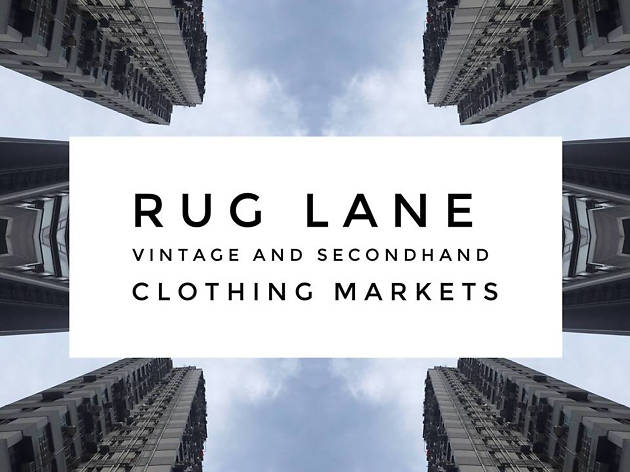 Rug Lane Vintage and Second Hand Clothing Market