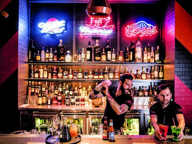 San Antone by Bludso's BBQ bar