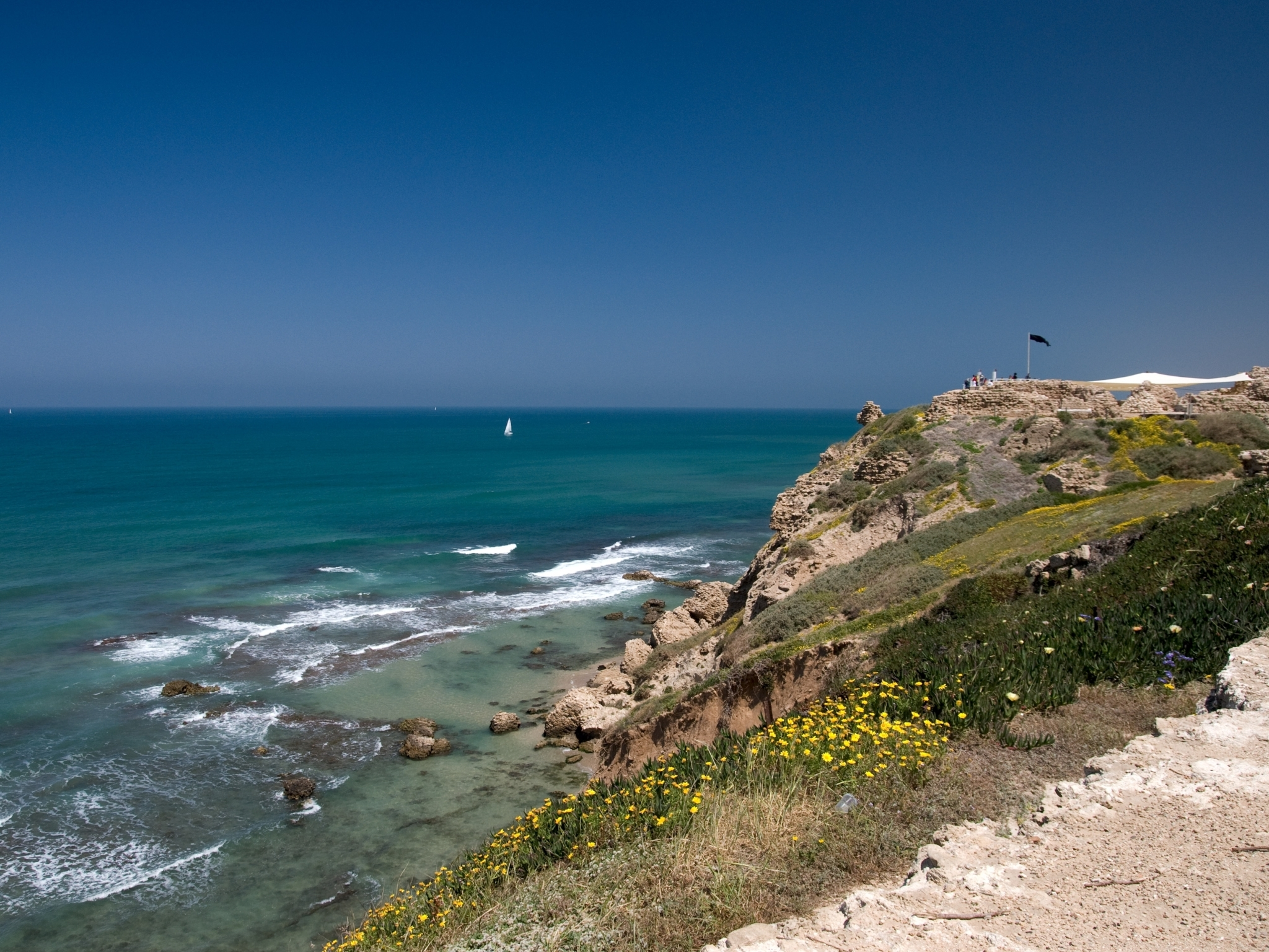 Apollonia National Park and Beach