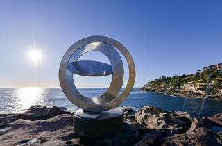 Sculpture by the Sea 2016 Inge King Celestial Rings photographer credit Clyde Yee