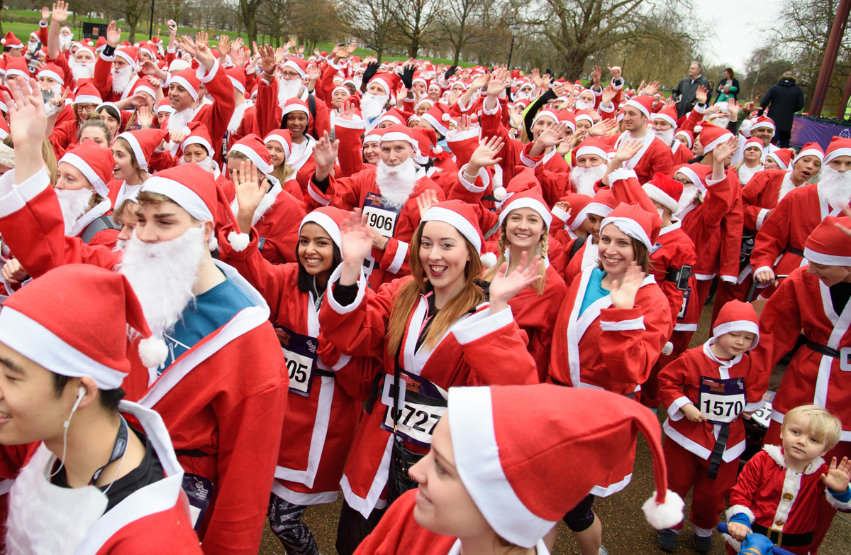 Four festive runs to keep you warm this winter