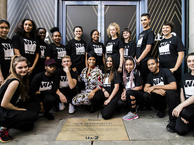 Ms Dynamite, MOBO awards, plaque unveiling