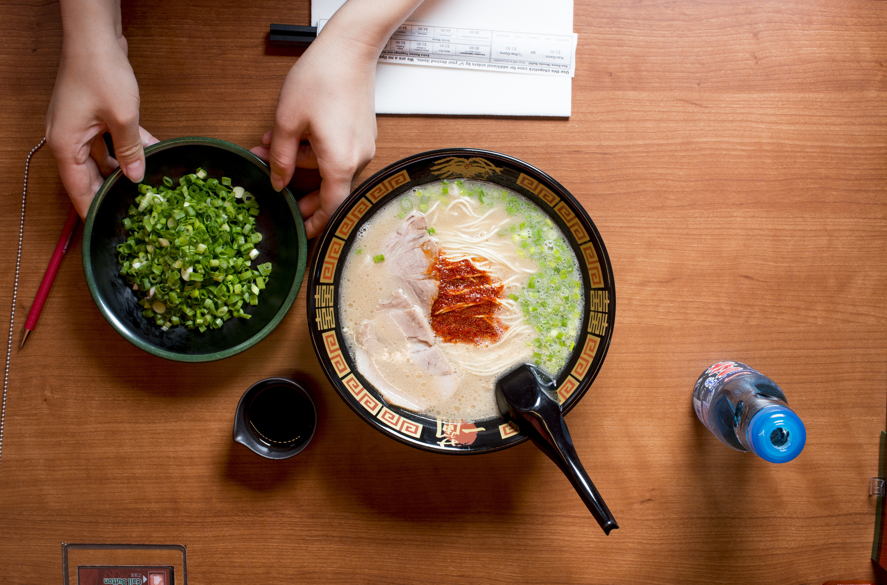 <p>Ramen at Ichiran</p>