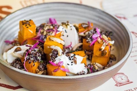 22 Ships: Pumpkin yoghurt salad