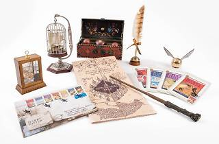 Harry Potter exhibition, Collecting Magic: From Stamps to Wands