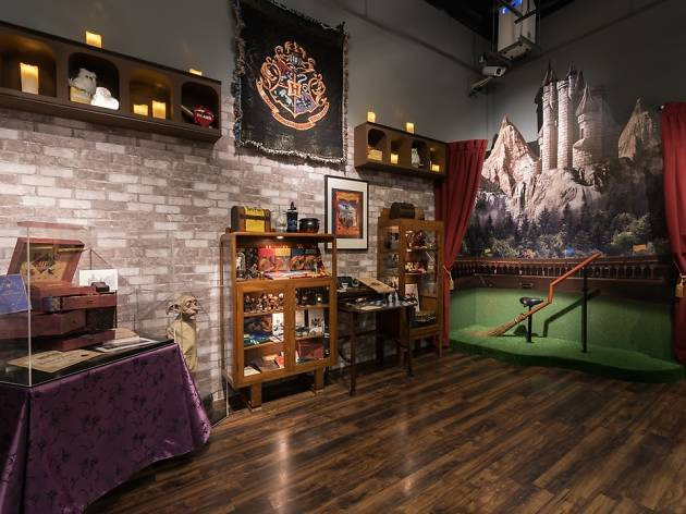 Harry Potter exhibition at Philatelic Museum, Collecting Magic: From Stamps to Wands