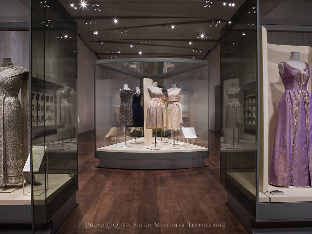 Fit for a Queen exhibition at Queen Sirikit Museum of Textiles