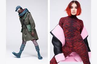 KENZO x H&M koleksiyonunun lookbook'undan