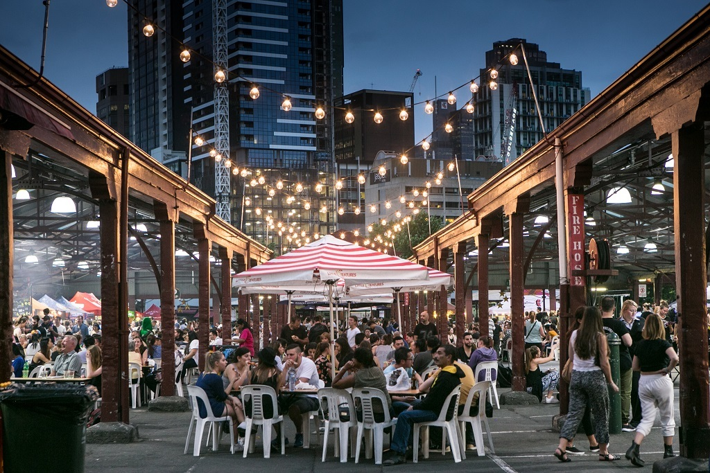 Summer night markets