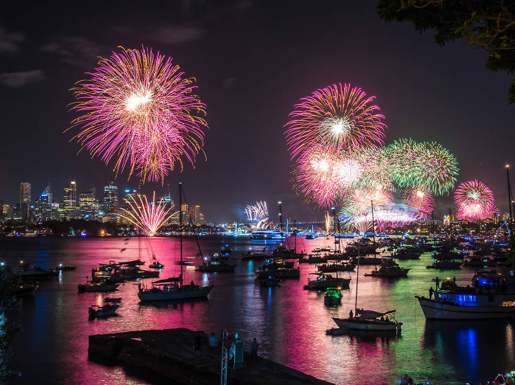 Check out NYE parties in Sydney