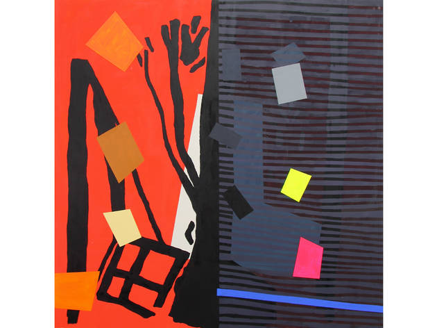 Bruce McLean: A Hot Sunset And Shade Paintings