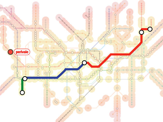Tuber: interactive tube map