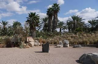 Le Parc de Sculptures de Pierres et le Jardin de Cactus