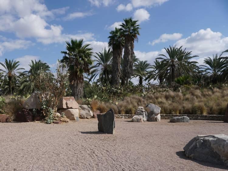 Парк каменных скульптур и сад кактусов