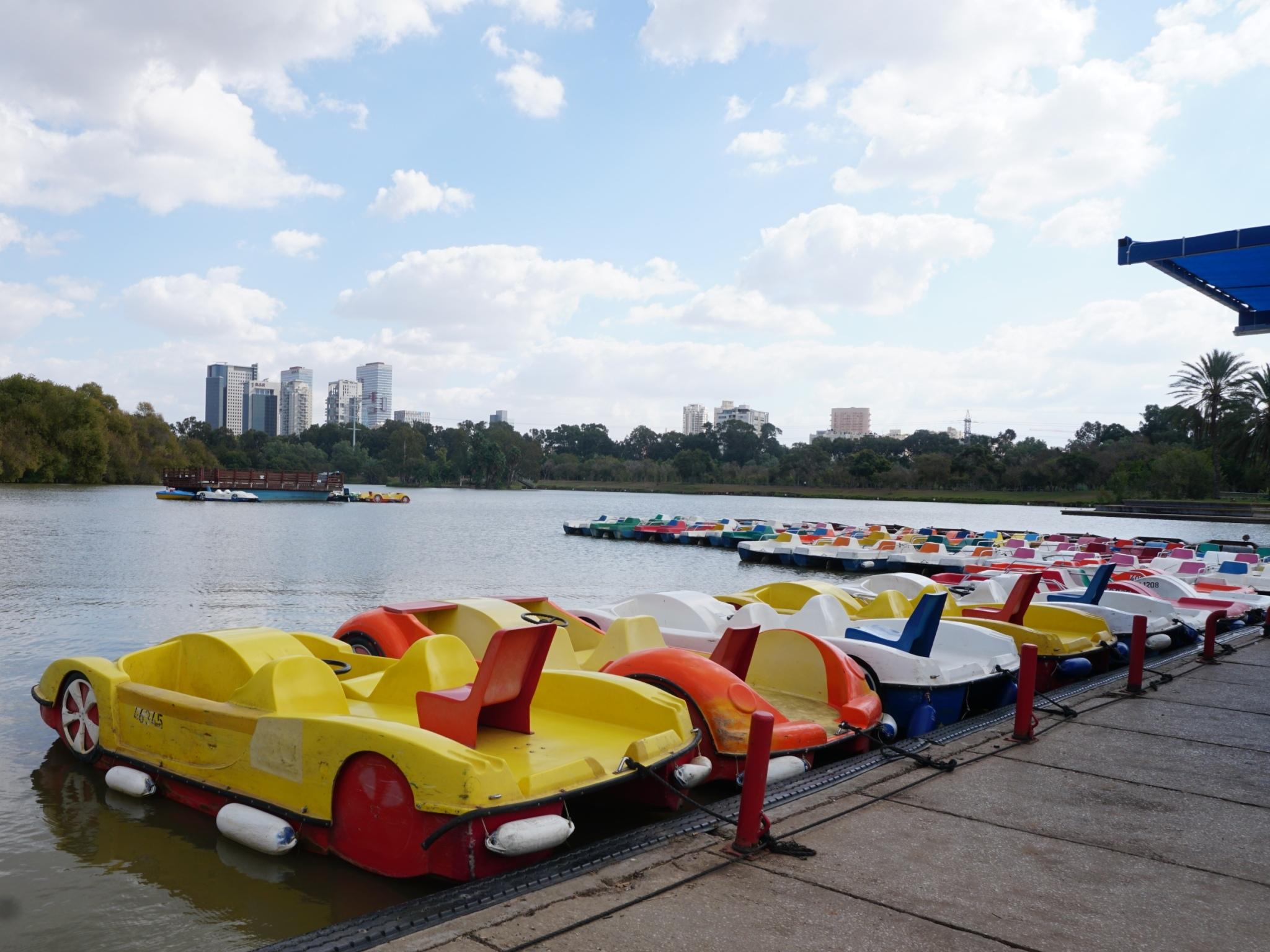 Park Hayarkon Boat Rentals