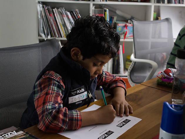 Ser editor por un día de TOM Kids