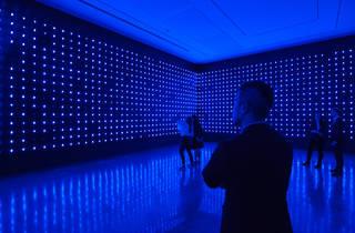Tatsuo Miyajima Connect With Everything 2016 MCA installation view 01 feat Mega Death photographer credit Anna Kucera (c) Museum of Contemporary Art Australia