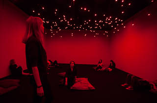 Tatsuo Miyajima Connect With Everything 2016 MCA installation view 02 feat Arrow of Time (Unfinished Life) photographer credit Anna Kucera (c) Museum of Contemporary Art Australia