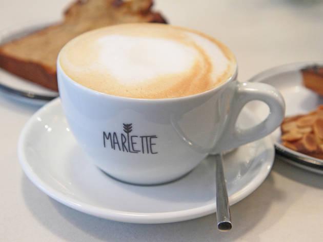 Café Marlette coffee shop petit déjeuner préparation bio shopping gâteaux