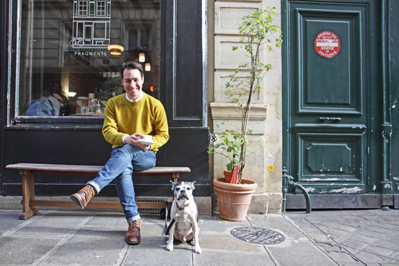 Entretien avec Cake Boy, le super héros américain de la pâtisserie à Paris