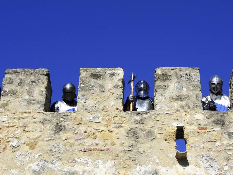 Dançar no Castelo de São Jorge