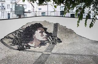 Calcada by Vhils e calceteiros de Lisboa