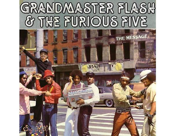 """The Message"" by Grandmaster Flash and the Furious Five (1982)"