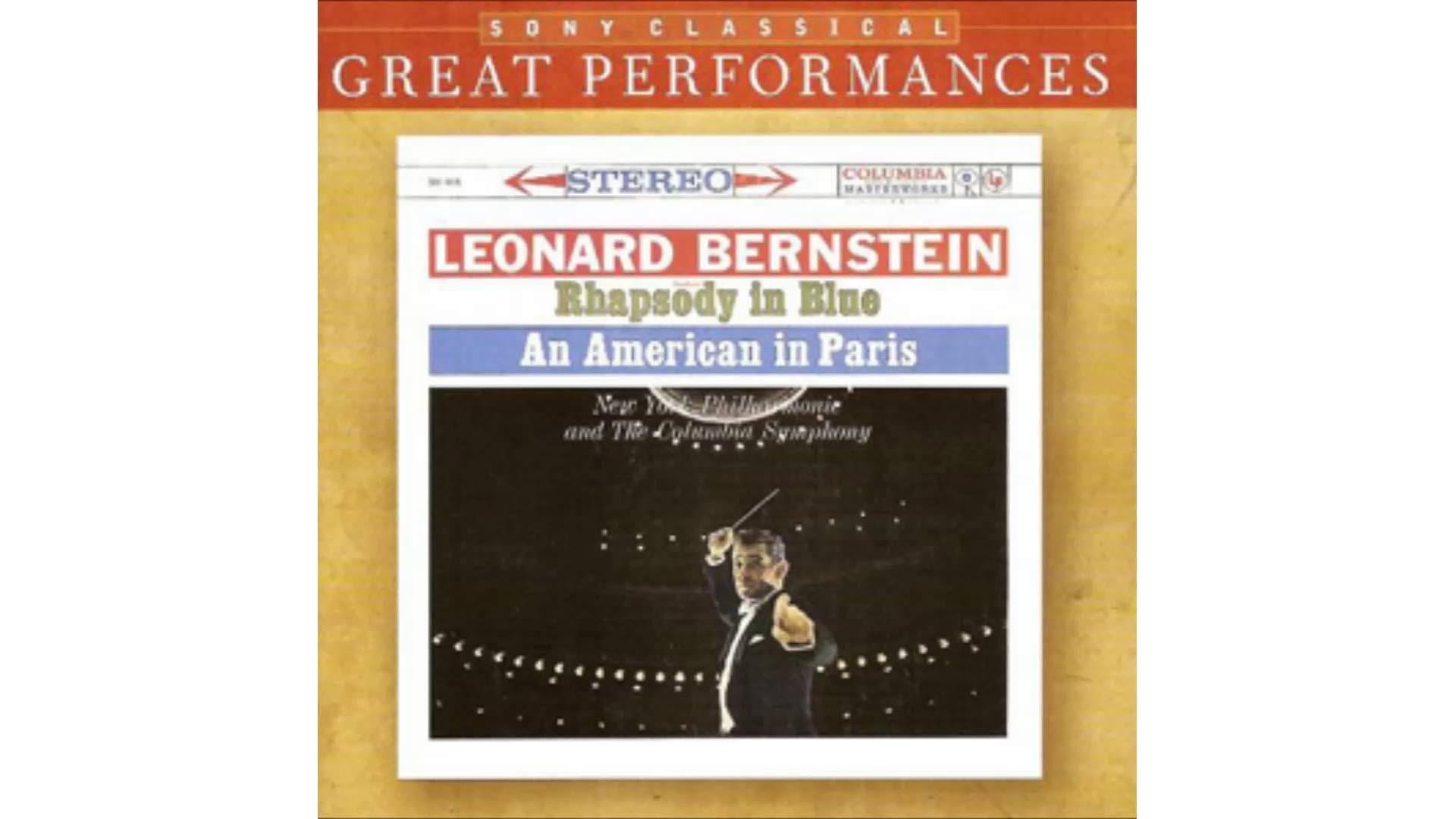 """""""Rhapsody in Blue"""" by Leonard Bernstein with the Columbia Symphony Orchestra (1959)"""