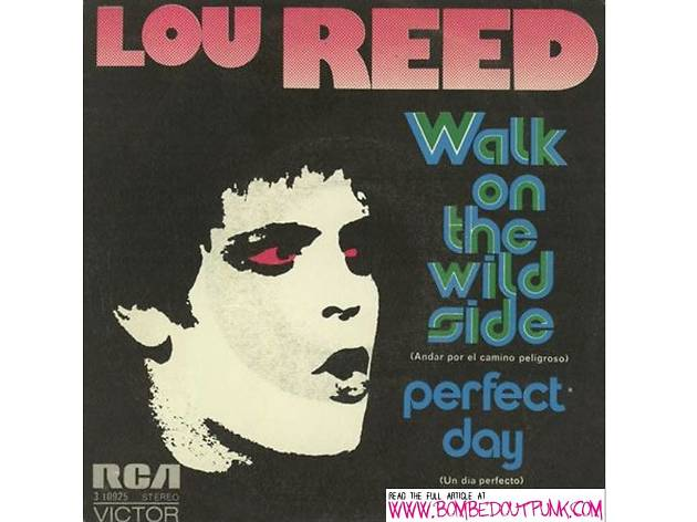 """Walk on the Wild Side"" by Lou Reed (1972)"