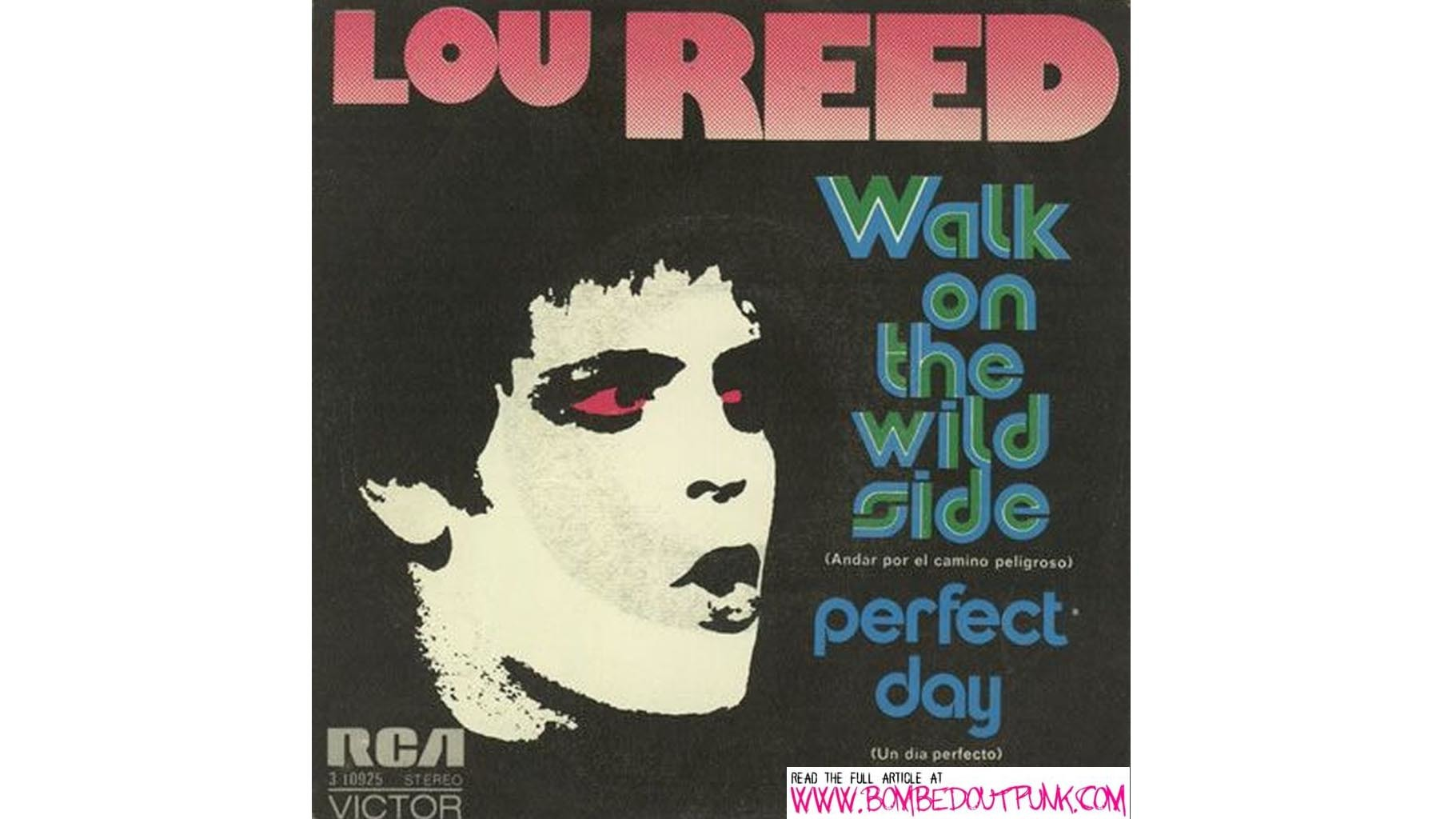 "Lou Reed, ""Walk on the Wild Side"" (1972)"