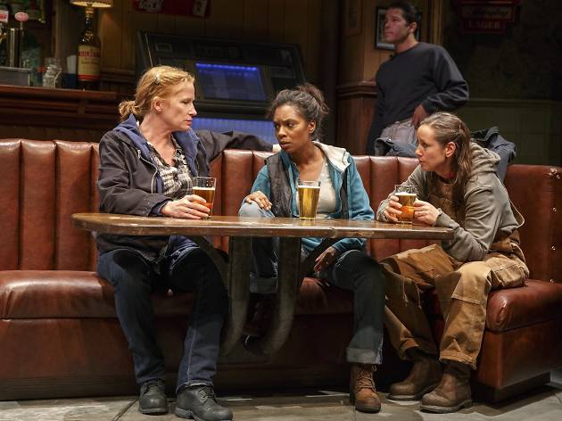 Theater review: Sweat offers grim truths from blue-collar America
