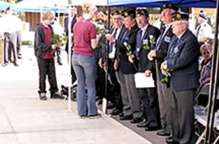 La Habra Veterans Day Program