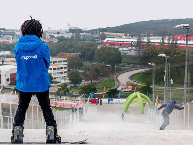 Ski Skate Amadora Parque