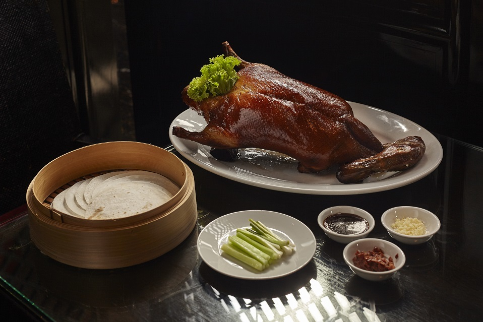 Peking duck at Fei Ya