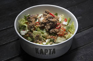 Kapta Soupasta'nın salatalarından