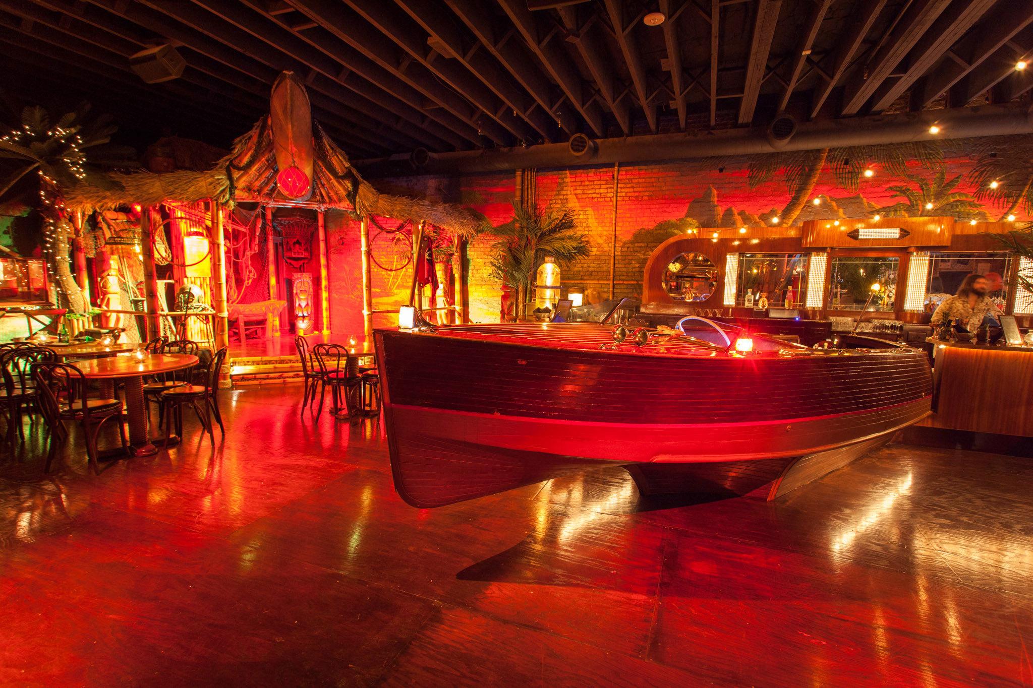 Pacific Seas LAs newest most extravagant tiki bar opens tonight
