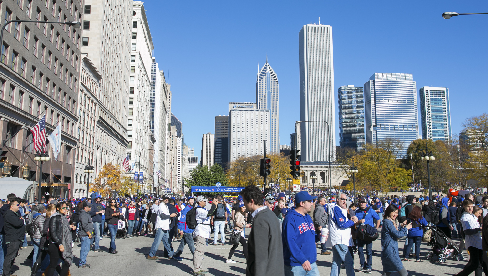 Photos from the Cubs World Series championship parade and rally
