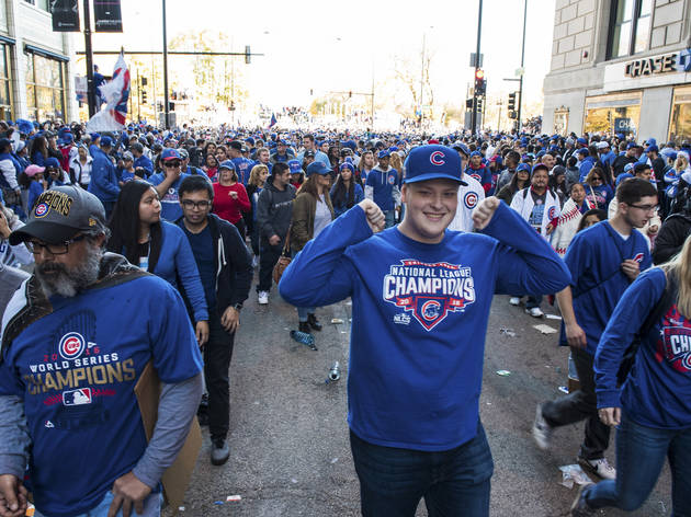 Chicago Cubs 2016 World Series Parade