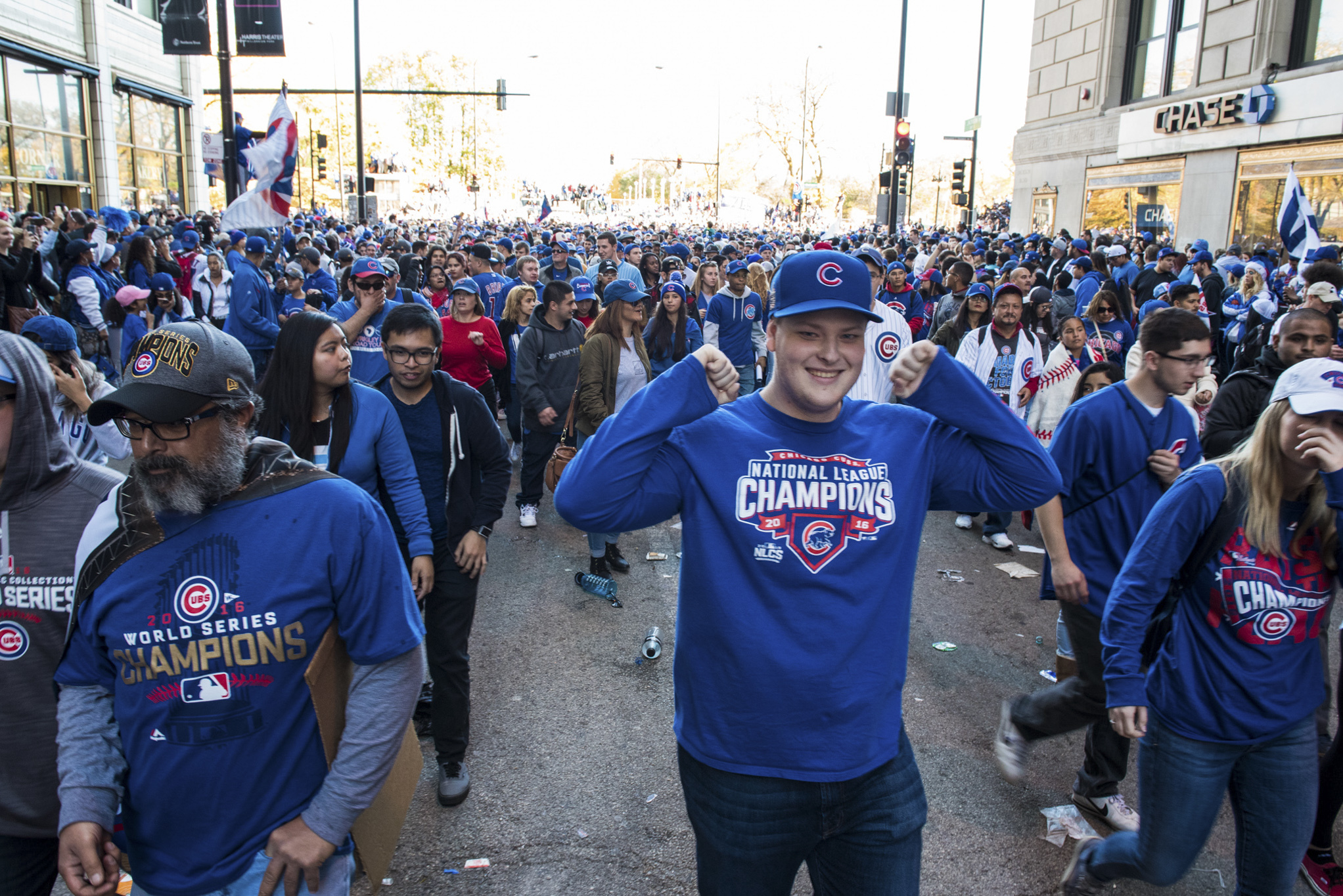Chicago Cubs championship parade brings record attendance